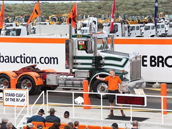 Ritchie Bros hails Geelong auction site debut
