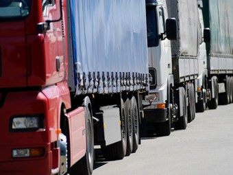 Trucking industry closer to achieving paid waiting time