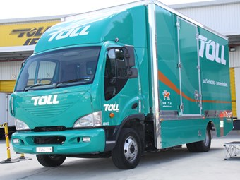 Toll charges ahead with all-electric truck
