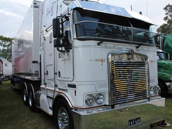 Classic Kenworth K104 keeps on going