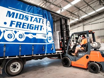 Midstate expands with rented Toyota forklifts