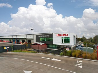 New Isuzu parts warehouse to service South Pacific