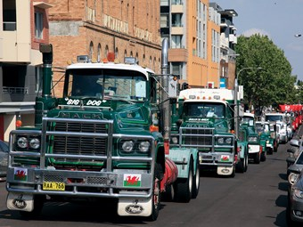 Newcastle to celebrate 20 years of truck convoys