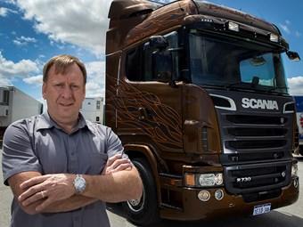 Scania R730 Black Amber goes to WA operator