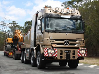 Mercedes Benz muscles up with Actros SLT