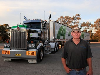A Kenworth T904 proves to be the right persuader