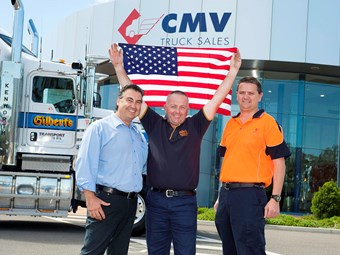 Gilbert's Transport Services employee wins free US trip
