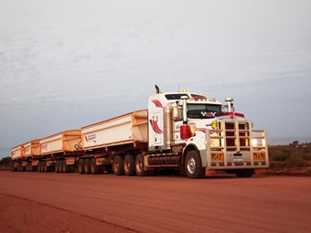 Driving quads in the Pilbara