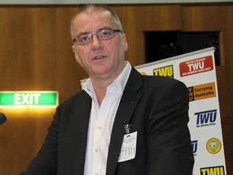 TWU's Tony Sheldon appointed to presidency role at ITF