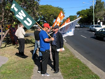 Back off, TWU tells rival union