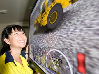 Michelle smooths path for females in mining industry