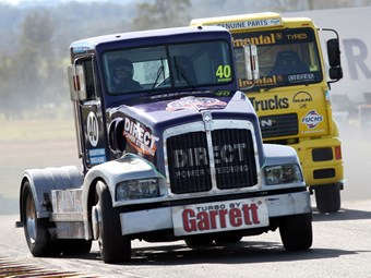 Truck racing back at Queensland Raceway