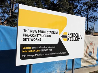 Next stage for Perth Stadium