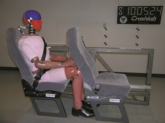 SEATING: Crash testing