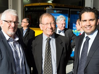 NZ Bus unveils new depot
