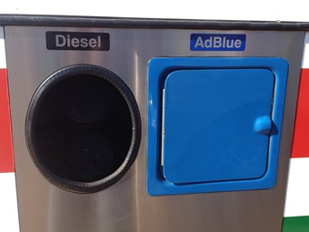 AdBlue and diesel don't mix