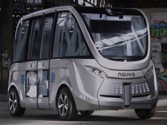 WA's driverless electric bus