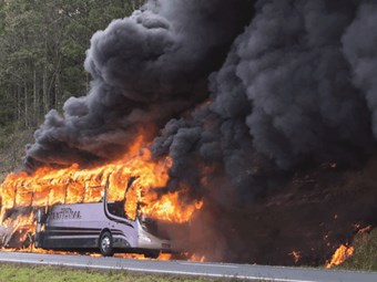 INCREASED BUS THERMAL INCIDENTS A BURNING SAFETY ISSUE – REPORT