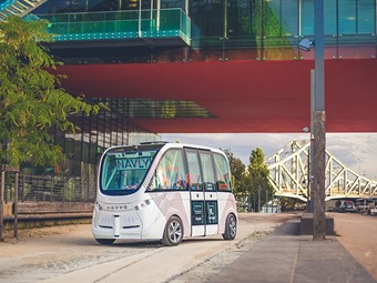 Keolis and Navya launch autonomous service in France