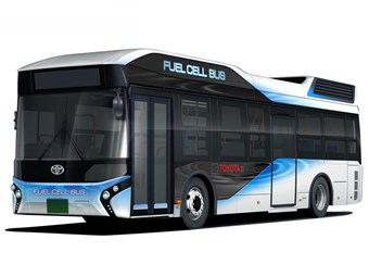 Toyota's fuel cell buses arrive