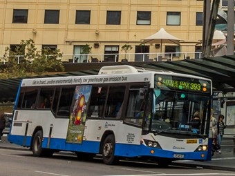 NSW buses on demand