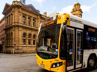 Metro bus upgrades in Hobart