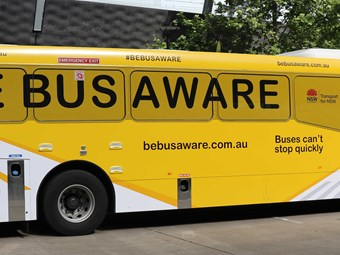 Be alert during Bus Safety Week