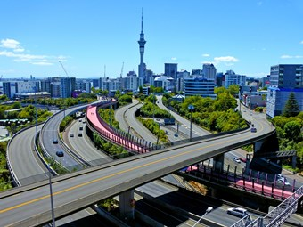 Bus priority for Auckland