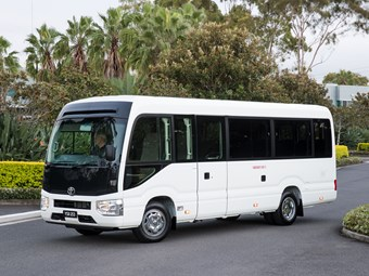 2017 Toyota Coaster arrives