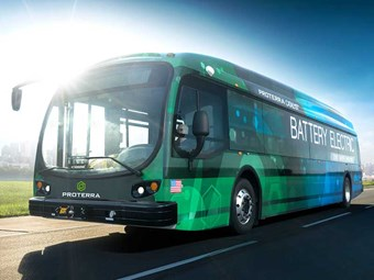 E-bus sets distance record