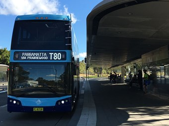 NSW double deckers roll out