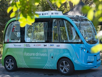 Vic driverless shuttle trial