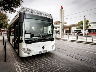 All-electric Citaro - on its way to Oz?