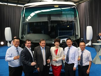 NSBC ACES 100TH CONSECUTIVE YUTONG FOR ITS SYDNEY FLEET