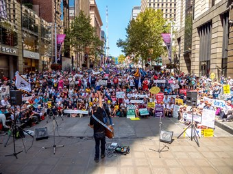 NSW PT PROTESTS GET SECOND WIND FOR 2018
