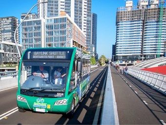 BRIDGE BUS TRIAL EXTENDED; BAYLINK FUTURE STILL TO BE DETERMINED