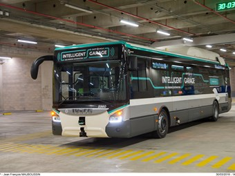 FRENCH UNDERGROUND AUTONOMOUS BUS TEST A EUROPEAN FIRST
