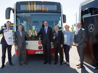DAIMLER SECURES BUS FOOTHOLD IN POLAND; HAT-TRICK OF ORDERS SIGNED – 150 UNITS
