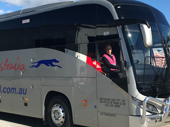 GREYHOUND STARTS YUTONG PREMIUM COACH TRIAL IN QUEENSLAND