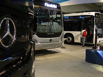LATIN AMERICA DECLINING DEMAND FOR DAIMLER BUSES