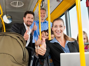 BUS DRIVER THANK-YOUS THE NEW BENCHMARK FOR COMMUTER 'CHARACTER'