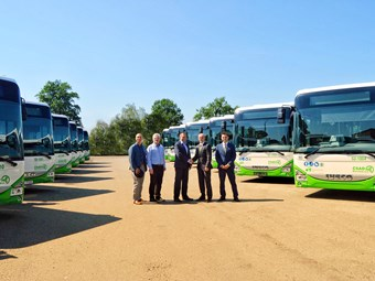 IVECO CZECH NATURAL-GAS BUS ORDER STARTS