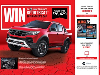 WIN AN HSV SPORTSCAT+ 4x4! SUBSCRIBE TO ENTER TODAY!