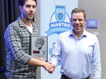 PENSKE DETROIT MASTER TECHNICIAN AWARDED