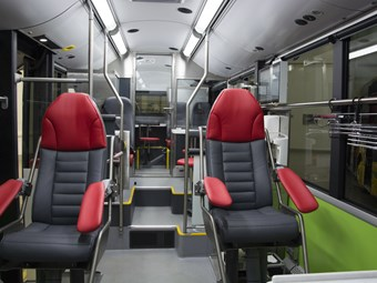 WORLD'S FIRST ELECTRIC BUS BLOOD-DONATION CENTRE WINS AWARD