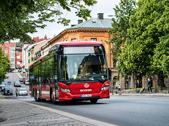SCANIA TACKLES EMISSIONS WITH BIO-FUEL OPTIONS FOR BUS OPERATORS