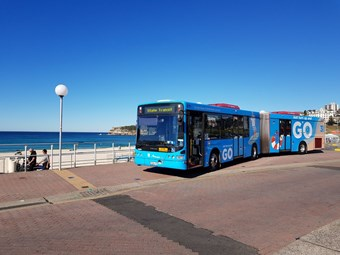 FASTER BUS SERVICE BETWEEN BONDI AND SYDNEY CBD ANNOUNCED; 3-MINUTE INTERVALS DURING WEEKDAY PEAKS