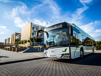 INCREASED ELECTRIC 'BUS OF THE YEAR' ORDER FOR GERMANY