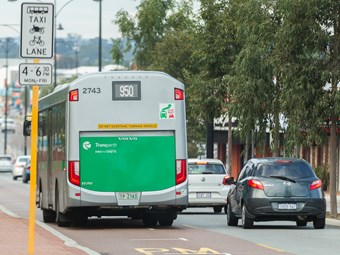 BUSES PART OF PERTH FREE WI-FI TRIAL