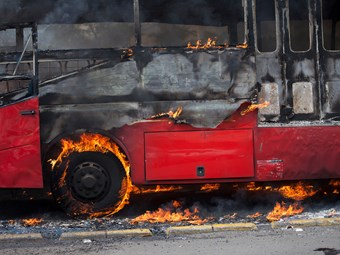 ELECTRIC-BUS FIRE SAFETY EDUCATION GETS BIG PUSH IN EUROPE